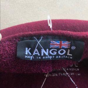 Kangol Accessories - Kangol Wool flat cap maroon red